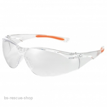 Schutzbrille  Medical Eyewear 513 Klar/Orange